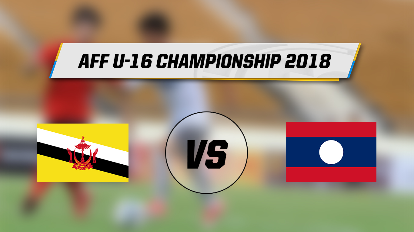 Live Streaming AFF U-16 Brunei Darussalam Vs Laos