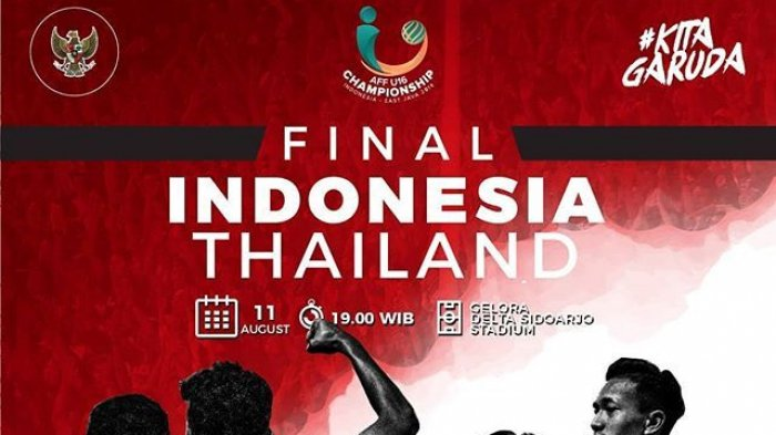 Live Streaming Final Piala AFF U-16 Indonesia Vs Thailand